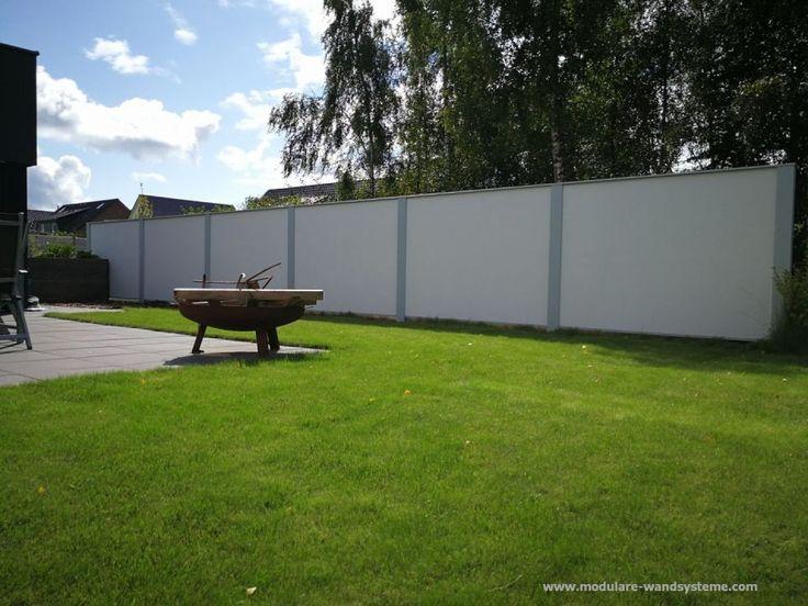 8 best Grundstücksmauer images on Pinterest Garden fencing