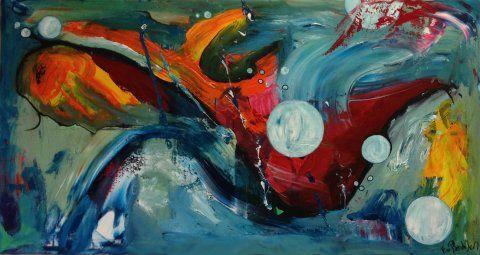 Kunstner Vivi Bendixen 80x150 cm