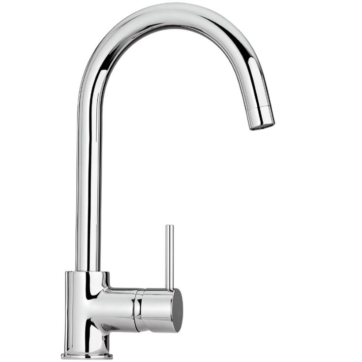 Paini Ovo Side Lever Mono Sink Mixer 86CR572UK