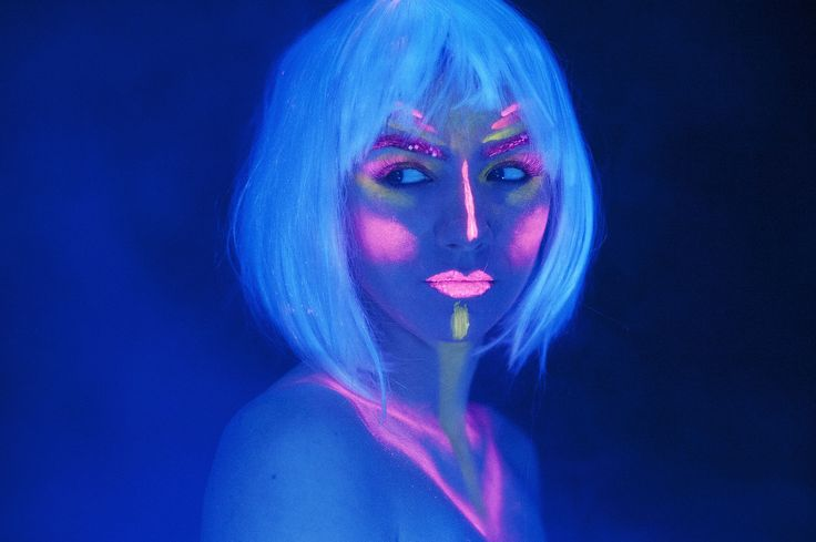 #makeup #colorfull #light #bright