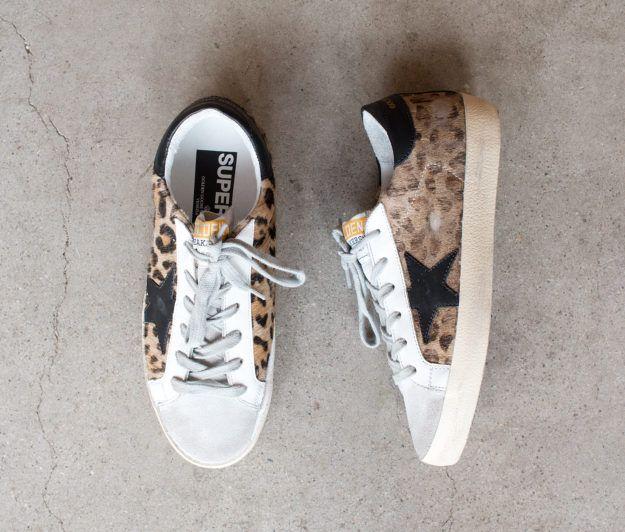 Golden Goose SS17 | Superstar Sneaker in Snow Leopard