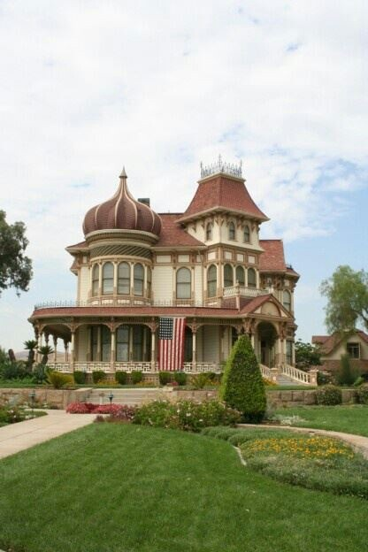 Morley Mansion Redlands Ca Mansions Victorian Homes Redlands