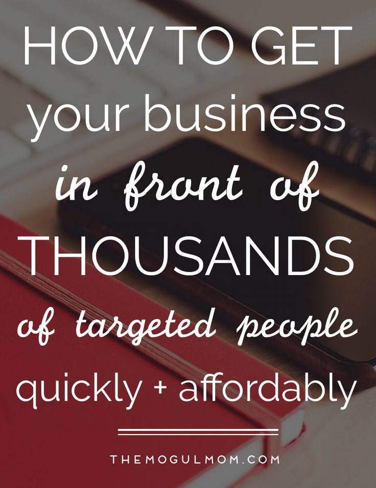 Best Kept Marketing Secret: How to get your business in front of thousands of highly targeted prospective buyers quickly and affordably.