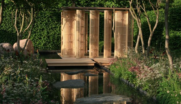 Luciano Giubbelei's garden for Laurent Perrier (2011) - Gold Medal at the Chelsea Flower Show