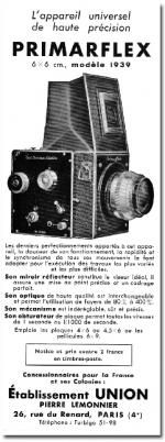 Bentzin Primarflex Vintage cameras collection by Sylvain Halgand