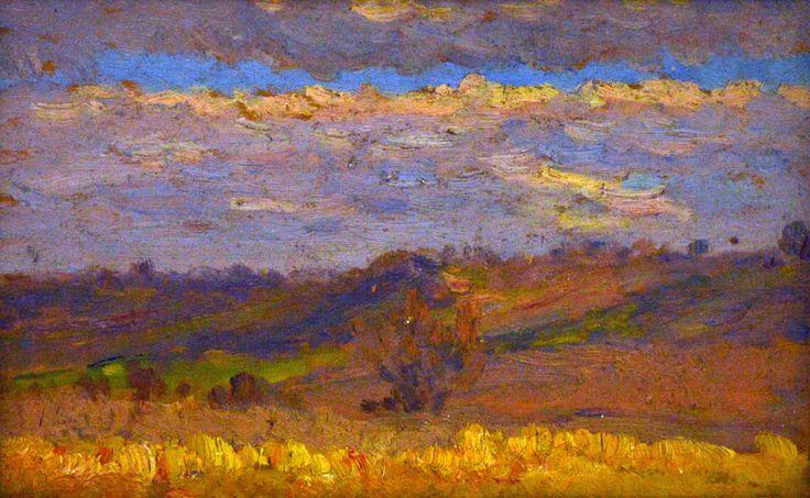 Hillside during autumn | Kunffy Lajos | Rippl - Rónai Megyei Hatókörű Városi Múzeum - Kaposvár | CC BY