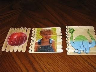 Homemade puzzles ot