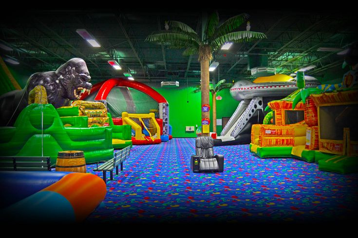 CooCoos indoor bounce house amusement park - Plano TX