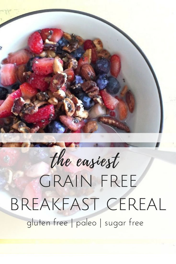 paleo cereal | paleo granola | grain free cereal | gluten free cereal | recipe | sugar free | gluten free breakfast | gluten free granola | breakfast recipes | easy | healthy | clean eating