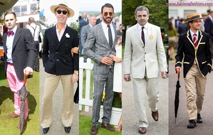 Goodwood Races Mens Fashion