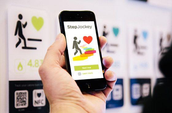 Step Jockey - app para uma vida ativa