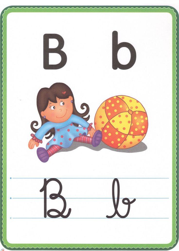Resultado de imagem para abecedario ilustrado para imprimir