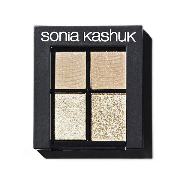 Sonia Kashuk Monochrome Eye Quad - Textured Taupe (18 CAD) ❤ liked on Polyvore featuring beauty products, makeup, eye makeup, eyeshadow, palette eyeshadow, shimmer eyeshadow, sonia kashuk eyeshadow, sparkle eye shadow and sparkle eyeshadow