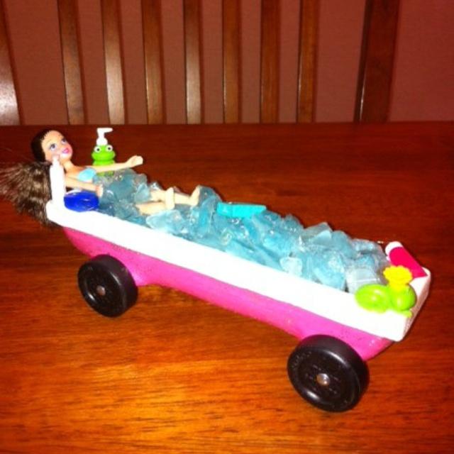 Bathtub Girl  Pinewood Derby Car | Fun Things To Do With Kids | Pinterest | Derby  Cars, Pinewood Derby And Pinewood Derby Cars