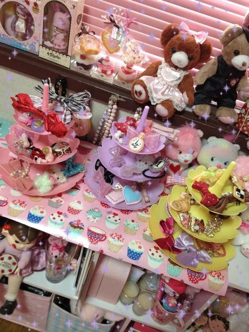 kawaii sweet lolita room: