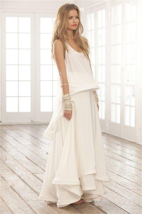 Sail sedan white colour dress