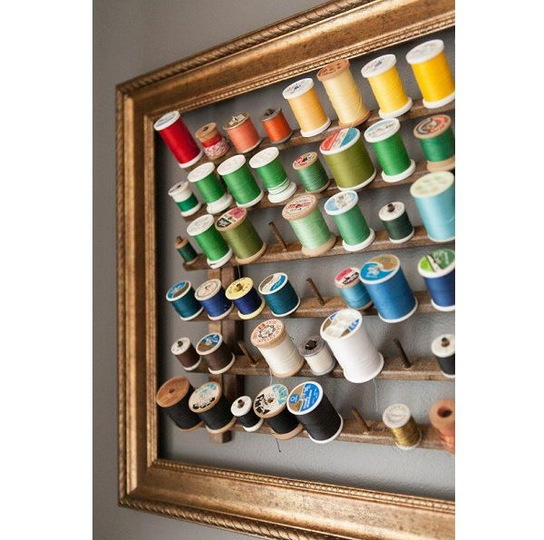11 pretty ways to organize your sewing supplies