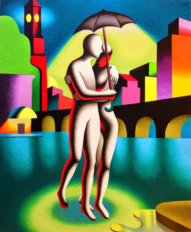 Tutt'Art@ | Pittura * Scultura * Poesia * Musica |: Mark Kostabi, 1960 ~ Pop Symbolism painter