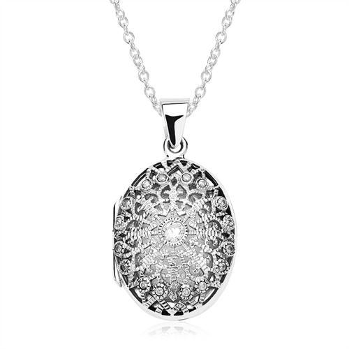 925er Silber Medaillon Gravur inklusive Kette https://www.thejewellershop.com/ #silber #medaillon #chain #kette #necklace #jewelry #schmuck #silver