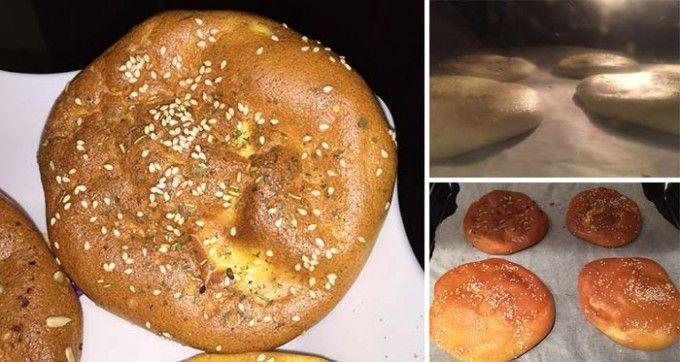 FITNESS recept na pečivo bez mouky ze 3 surovin | NejRecept.cz