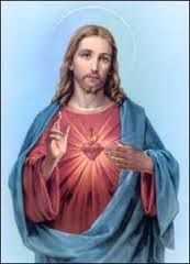 this is a more modern version of jesus with his flaming hearts healing our sins and this is all around the world this portraits and is one of the most common versions of renaissance as well as modern