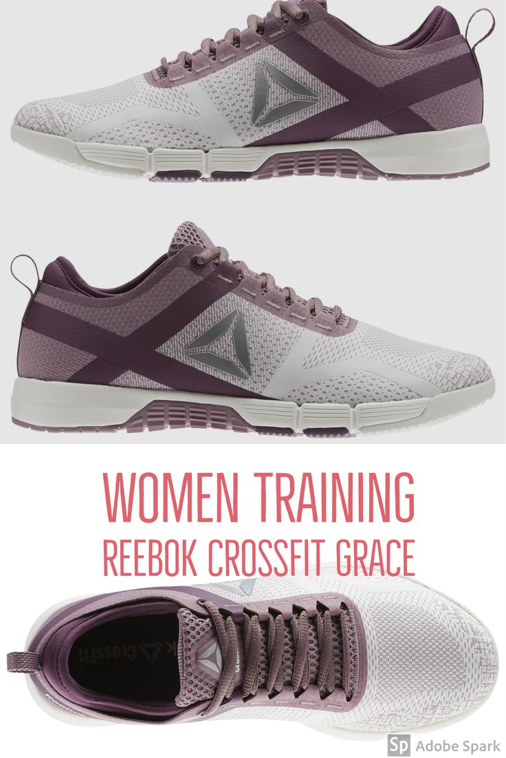 Built for the women of the CrossFit community, the Reebok CrossFit Grace  lets you fly through your workout with ultimate agility and breathability  Workout-tested, yet sleek in design, the Grace fits your look in and out of the gym.