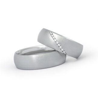 trauringe mit brillanten platin weißgold eheringe hochzeitsringe partnerringe diamanten günstig preiswert