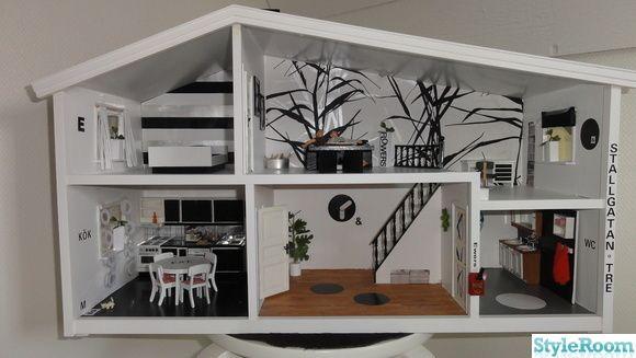 118 best images about maison poup e lunby on pinterest miniature art deco hotel and vintage - Deco moderne woning ...