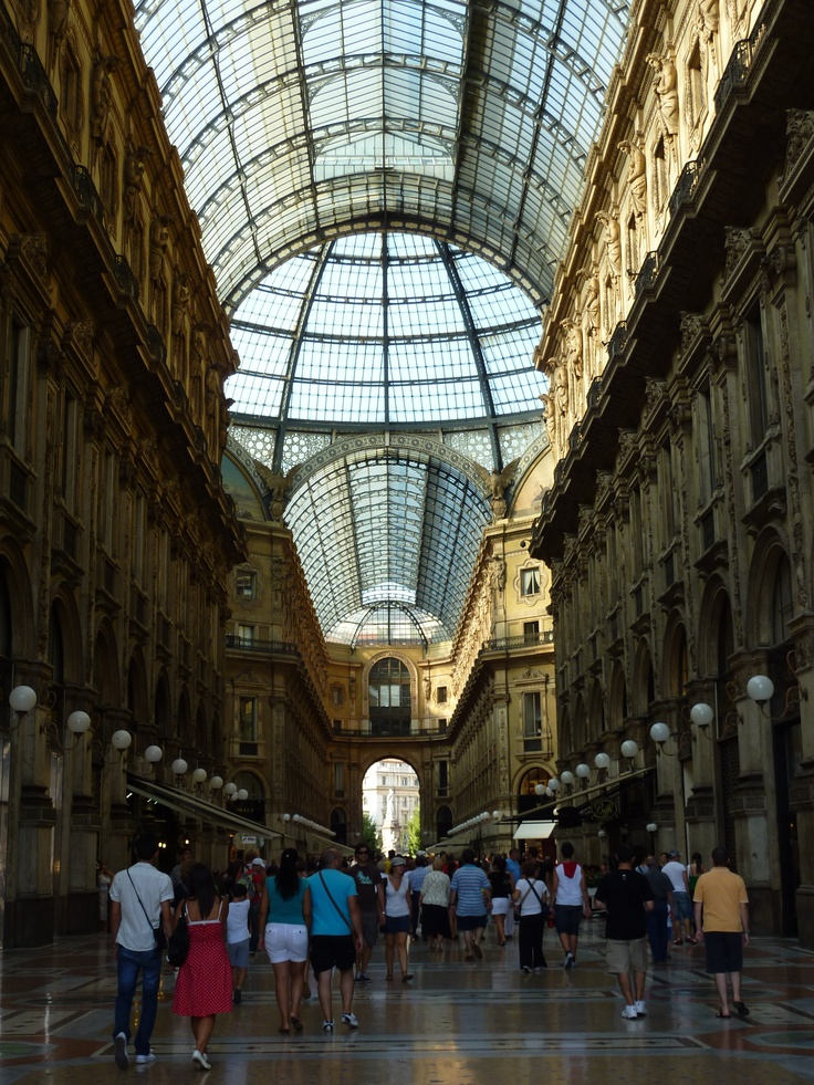 Milano: La Rinascente Shopping Mall