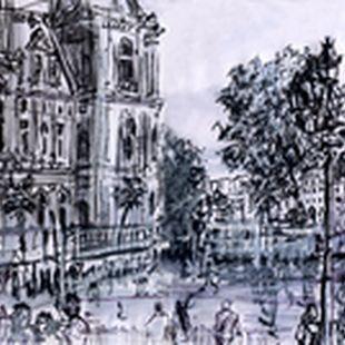 """15.08.2015 - """"Paris entre en jeux"""": Hôtel de Ville & Notre Dame (Paris, 4e), © Laetitia Hildebrand"""