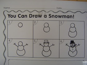 Mrs. T's First Grade Class: Snowmen at Night
