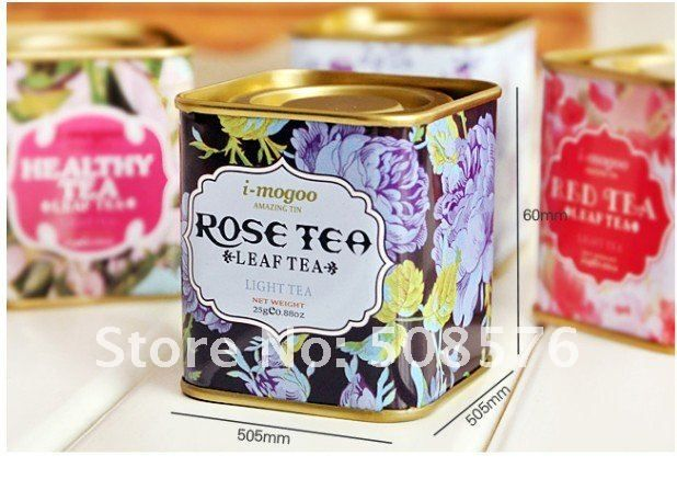 Vintage Style Tea Case