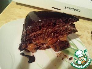 """Рецепт: Домашний шоколадный торт """"Гигант"""""""