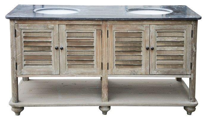 Celeste Double Basin Vanity Unit. See: http://www.vintage-etc.com/product/celeste-double-basin-vanity-unit/ for more info!
