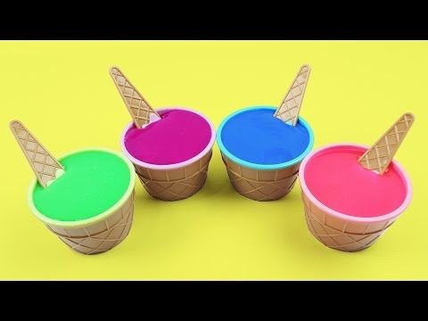 Pearl Clay Slime Surprise Toys Masha and the Bear Spider Man Yo Gabba Gabba Muno and Foofa - YouTube