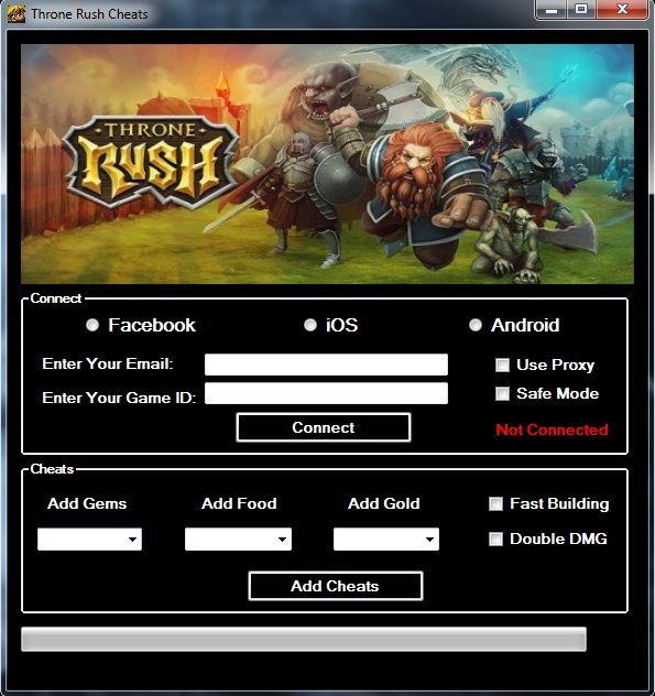 Throne Rush Cheats Cheating Rush Rush Games
