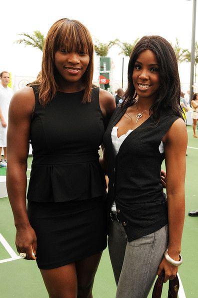 Serena Williams & Kelly Rowland at the Tide & Venus Williams Launch New Tide Plus Febreze Freshness Sport