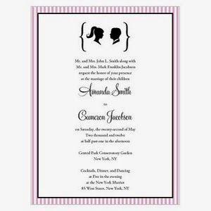 Celebrity Weddings: Inspired By Zooey Deschanel U0026 Ben Gibbardu0027s Wedding  Invitations #celebrity #wedding