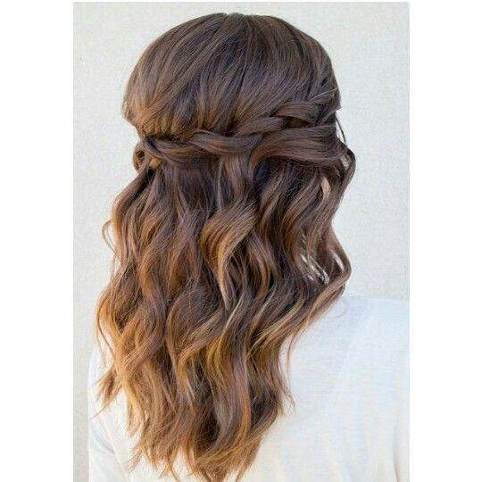 Loose curls and twist