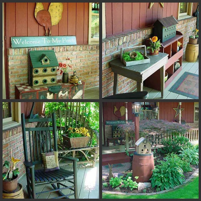 Country Front Porch Decorating Ideas: Cute Ideas For Front Porch