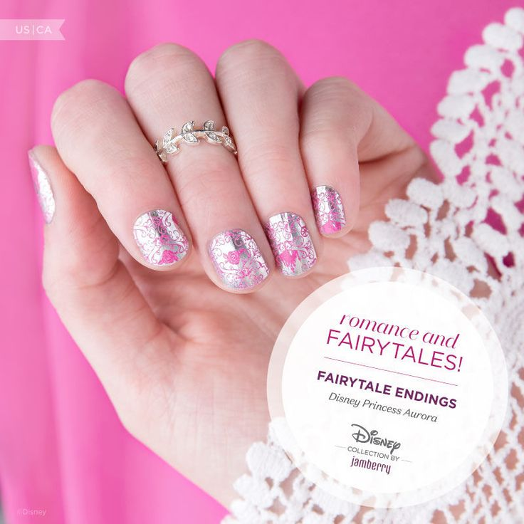 Show off your romantic side with Disney 'Fairytale Endings'! Its satin finish and intricate design is a beauty.