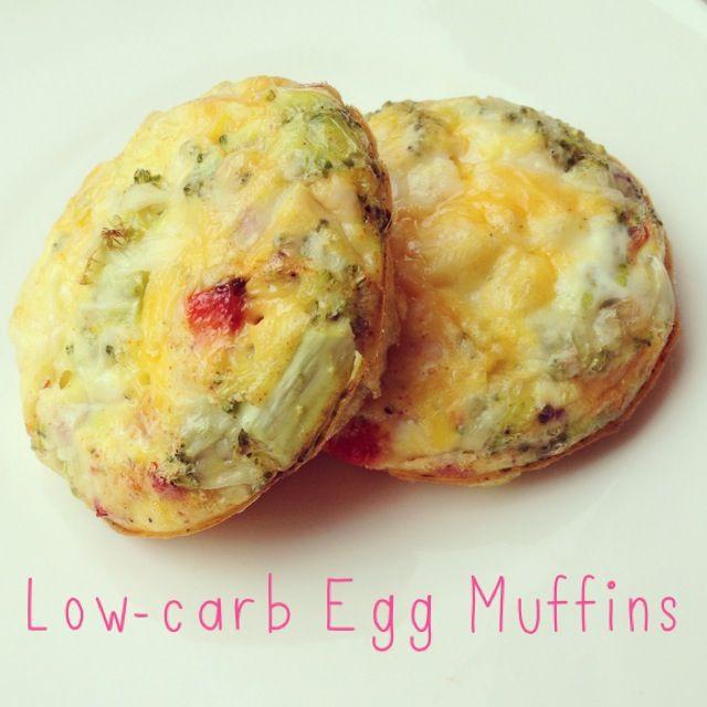 Healthy Breakfast: Low-Carb Egg Muffin - Ella Pretty
