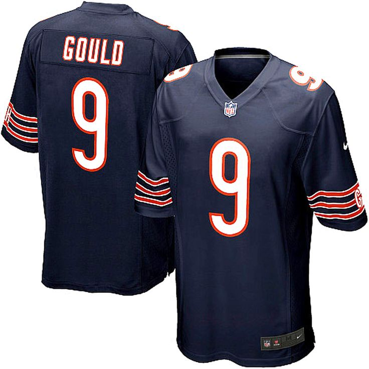Robbie Gould Chicago Bears Nike Youth Team Color Game Jersey - Navy Blue - $74.99