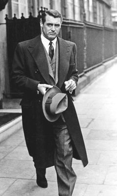 Cary Grant 1950s Mens Suits. Why don't men dress classy like this anymore? No, I don't want this suit for my wedding, it just caught my eye.