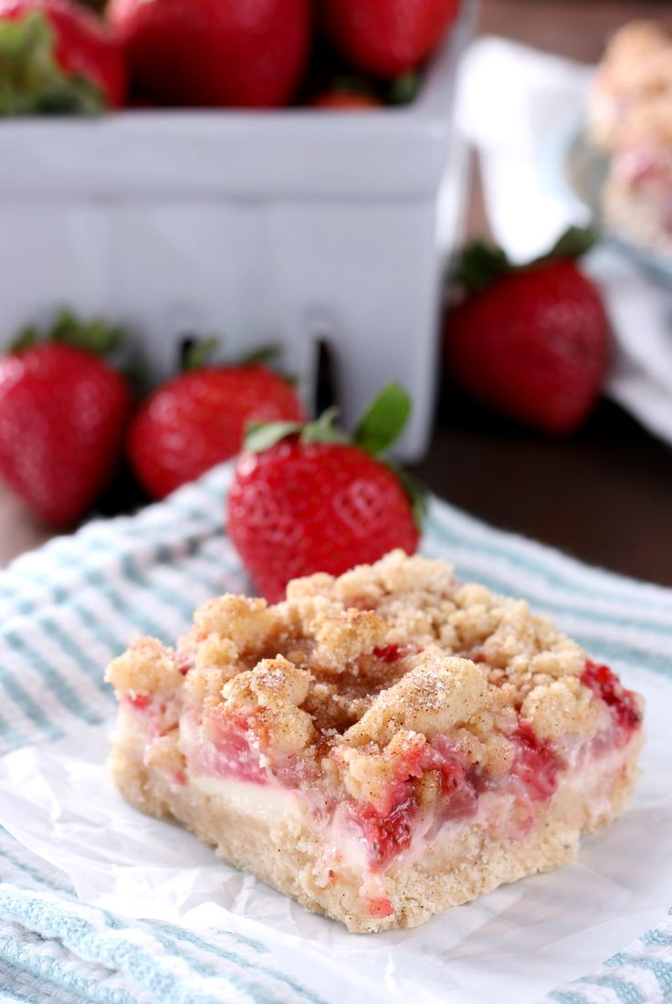 Sweet, summer strawberries and creamy cheesecake are sandwiched between layers of snickerdoodle cookies to create these irresistible Strawberry Snickerdoodle Cheesecake Bars! Costco got me again! It happens every year. I see those pallets and pallets of fresh berries, and I can't resist. I always have a bunch of recipe ideas swirling around in my head,Read More »