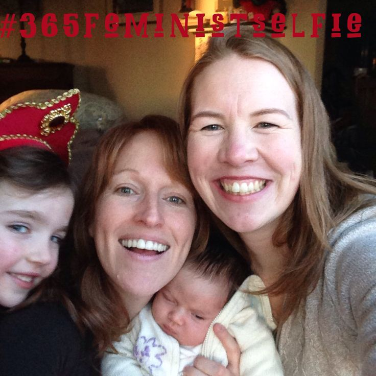 #365feministselfie, day 65. The #onlineempowerment team is together live and in person!