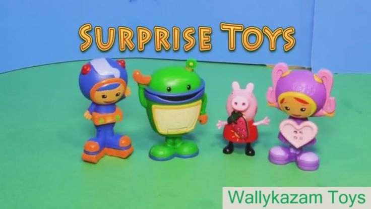 Wallykazam toys full episodes: Peppa Pig Lucky Luke & Nickelodeon Team Umizoomi 25 Surprise Eggs Wallykazam toys full episodes: Peppa Pig Lucky Luke & Nickelodeon Team Umizoomi 25 Surprise Eggs APPU KIDS more videos for kids ! We have so much fun with Review Toys that we want to share our videos with you!! Come stop by!!  SUBSCRIBE  https://www.youtube.com/channel/UCVf3ltH5Scmv7LaZIxwoNxA For more videos for kids  check out the links below! Doc McStuffins episodes: Baby Doll Hospital - Doc…