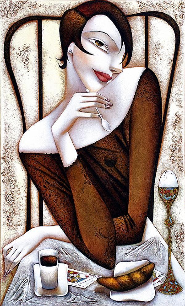 La Femme Fatale - Ira Tsantekidou (Greek Artist)