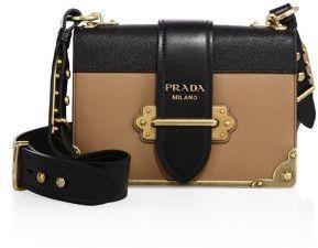 a95cd75af10d Prada Cahier Notebook Leather Shoulder Bag #Affiliate Link | Shoe ...