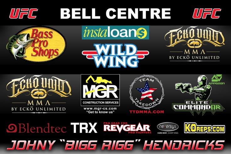 Johny Hendricks UFC 154 Fight Banner #MMA
